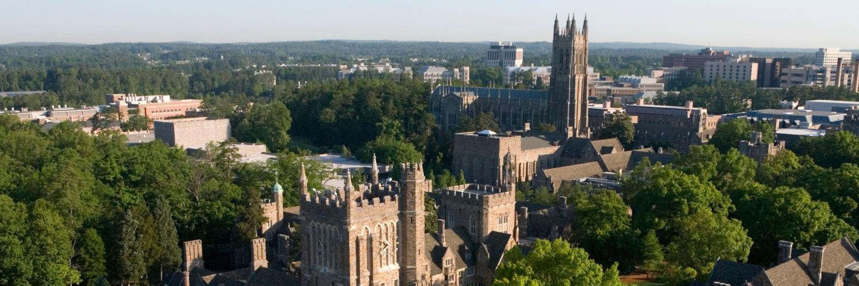 Duke campus aerial